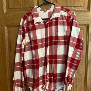 Roxy Flannel shirt XL